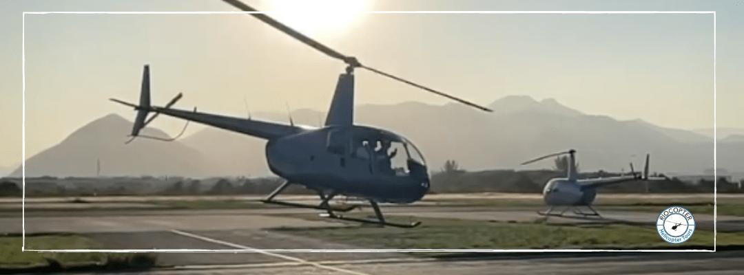 Voar de helicóptero – Uma sensação inesquecível!