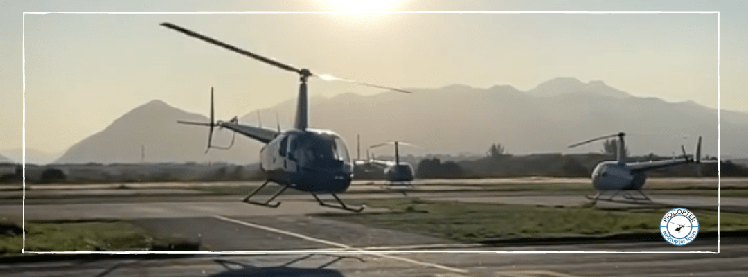 Passeio de helicóptero legalizado – como saber identificar?