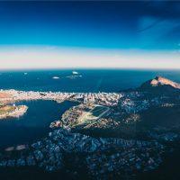 imagem aerea rio de janeiro